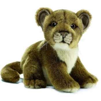 Anima - Peluche bébé lionne assis 18 cm -3422