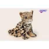 anima peluche bebe leopard assis 18 cm 3423