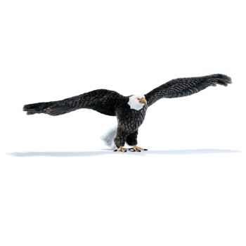 Anima - Peluche aigle americain 120 cm -3802