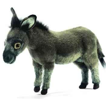Anima - Peluche âne debout 42 cm -3805