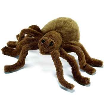 Anima - Peluche araignée brune 15 cm -4726