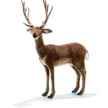 Anima - Peluche cerf 75 cm de long-4509