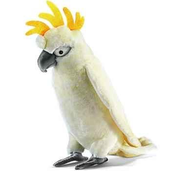 Anima - Peluche cacatoès blanc 35 cm -2654