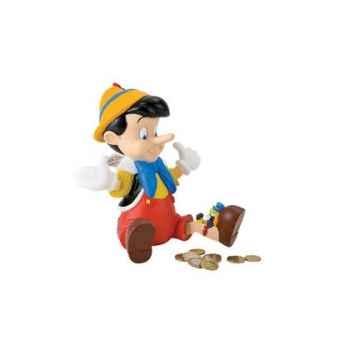 Figurine bullyland tirelire pinocchio  -b12246