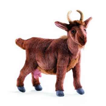 Anima - Peluche biquette brune 30 cm -4148