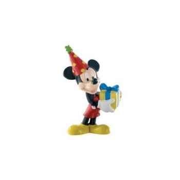 Figurine bullyland mickey anniversaire -b15338