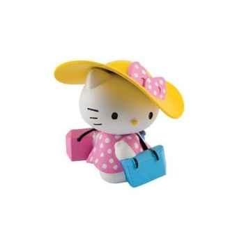 Figurine bullyland hello kiity shopping  -b53453
