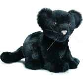 anima peluche bebe panthere noire assis 18 cm 3426