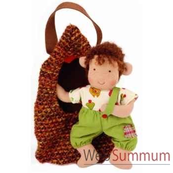 Poupée käthe kruse waldorf gnome bébé -38315