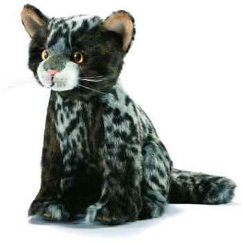 Anima - Peluche chatons tigré assis 22 cm -7046