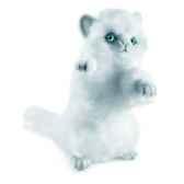 anima peluche chat joueur blanc 24 cm 3435