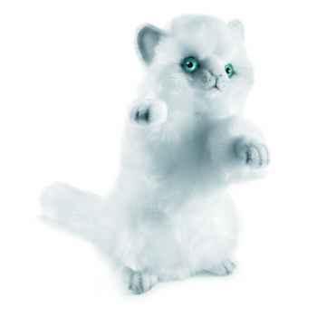 Anima - Peluche chat joueur blanc 24 cm -3435