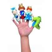 marionnettes a doigts une journee au chateau coffret cadeau 105310