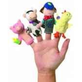 marionnette old macdonald coffret cadeau marionnettes a doigts 106090