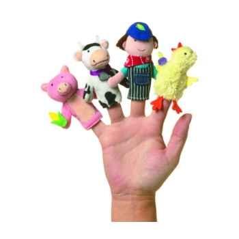 Marionnette old macdonald coffret-cadeau marionnettes à doigts -106090
