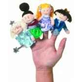 marionnette cendrillon coffret cadeau marionnettes a doigts 108250