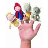 marionnette le petit chaperon rouge coffret cadeau marionnettes a doigts 108270