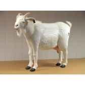 anima peluche chevre blanche 103 cm 4785