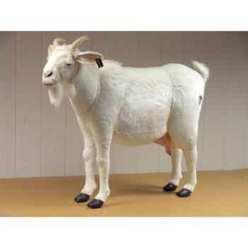 Anima - Peluche chèvre blanche 103 cm -4785