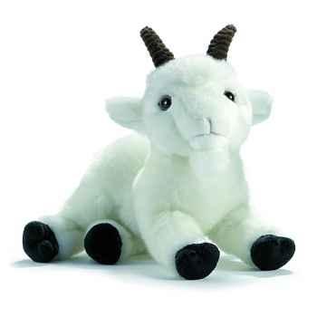 Anima - Peluche chèvre blanche 26 cm -1703