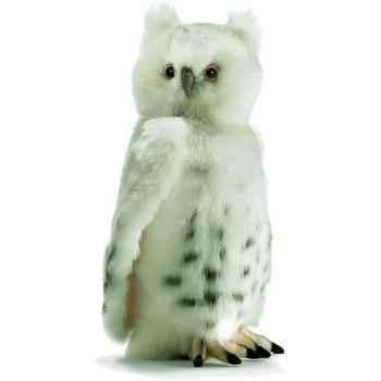 Anima - Peluche chouette blanche 32 cm -3836