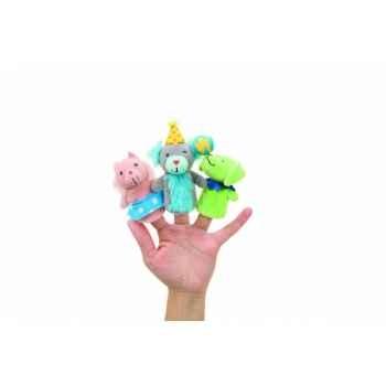 Marionnettes à doigts lot de 3 chiens de cirque -141660