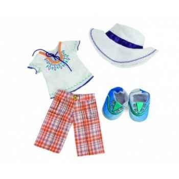 Vêtement Poupée lilydoll tenue en madras pour l\'été -141700
