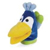 marionnette looney bird zoo paon 144100