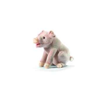 Anima - Peluche cochon assis 25 cm -3380