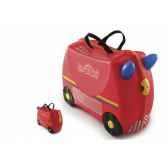 porteur trunki ride on voiture de pompier fire engine 9220007
