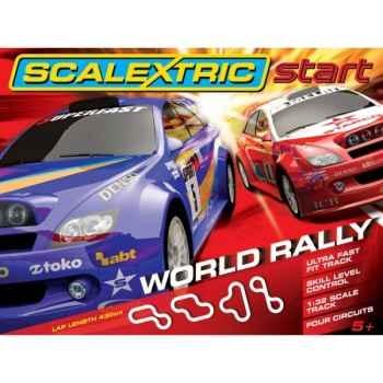 Scalextric coffret world rallye -sca1249