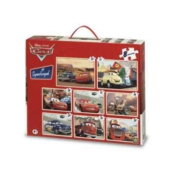 Puzzles 8 en 1 cars King Puzzle BJ01792