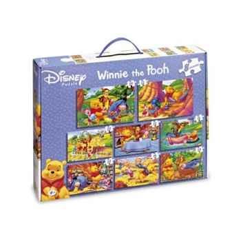 Puzzles 8 en 1 winnie King Puzzle BJ01793