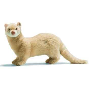 Anima - Peluche furet beige 32 cm - 4555