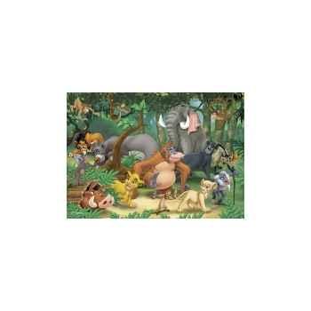Puzzles disney amis animaux 50 pcs -1 King Puzzle BJ04731A