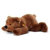 peluche ours brun couche 60cm steiff 070044