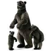 anima peluche grizzly dresse 150 cm 3626