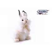 anima peluche lapin dresse blanc 32 cm 3313