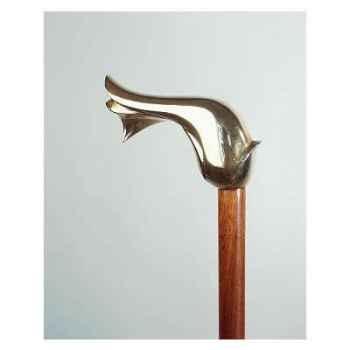 Canne Bois-Bronze L Comfort Tiffany -MO09