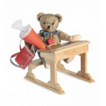 Ours teddy bear ecolier 19 cm peluche hermann teddy original édition limitée -10513 8