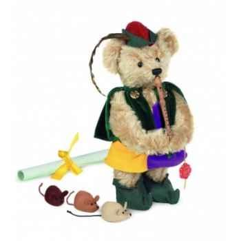 "Ours teddy bear \""pied piper of hamelin\"" 32 cm peluche hermann teddy original édition limitée -11829 9"