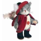 puss in boots grey 30 cm peluche hermann teddy originaedition limitee 11833 6
