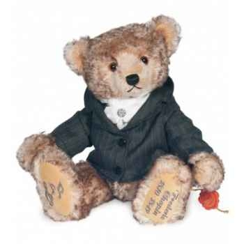 Ours teddy bear chopin with music box 30 cm peluche hermann teddy original édition limitée -15528 7