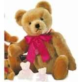 nostalgic teddy old gold avec voix 60 cm peluche hermann teddy originaedition limitee 16360 2