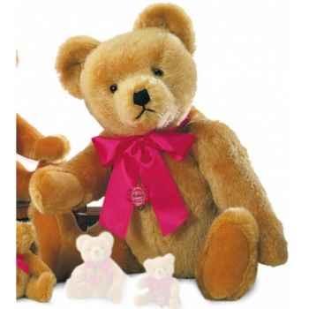 Nostalgic teddy old-gold avec voix 60 cm peluche hermann teddy original édition limitée -16360 2