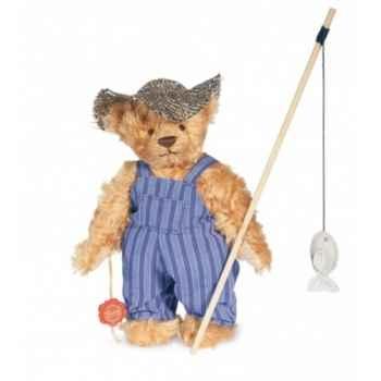 Ours teddy bear huckleberry finn 26 cm peluche hermann teddy original édition limitée -17021 1