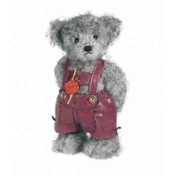 Ours debout flori 30 cm peluche hermann teddy original édition limitée -17250 5