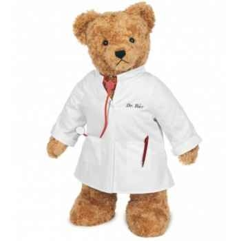 Standing dr. bear 100 cm peluche hermann teddy original édition limitée -17404 2