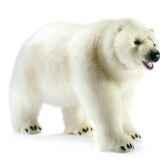 anima peluche ours polaire a 4 pattes 105 cm 4446
