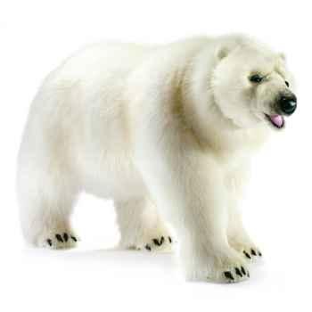 Anima - Peluche ours polaire à 4 pattes 105 cm -4446